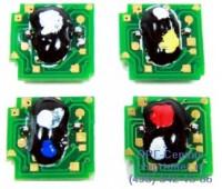 Чип голубого  картриджа HP CLJ CP4025/CP4525