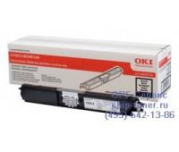 Картридж черный OKI C110 / C130 / MC160 ,оригинальный
