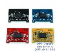 Чип голубого  картриджа Samsung CLP-300/300N/CLX-2160/2160N/3160N