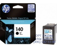 Картридж  черный HP 140 ,оригинальный