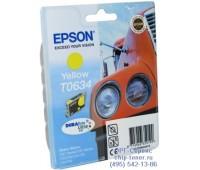 Картридж желтый Epson T0634 ,оригинальный