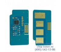 Чип желтого картриджа Samsung CLP-620ND/670ND