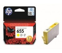 Картридж желтый струйный HP 655 , оригинальный
