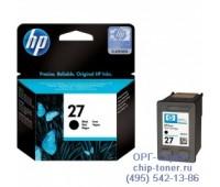 Картридж струйный черный  HP 27 ,оригинальный