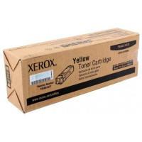 Картридж желтый Xerox Phaser 6125 оригинальный