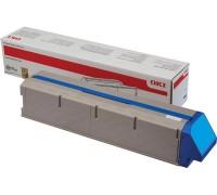 Тонер-картридж голубой 45536507 увеличенного объема для Oki C911 / Oki C931 оригинальный