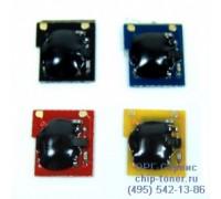 Чип пурпурного картриджа HP №507A / CE403A