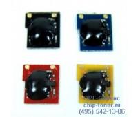 Чип голубого картриджа HP Color LaserJet CP3505 / 3600 / 3800